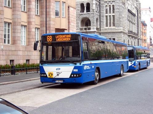 Транспортное сообщение в Финляндии