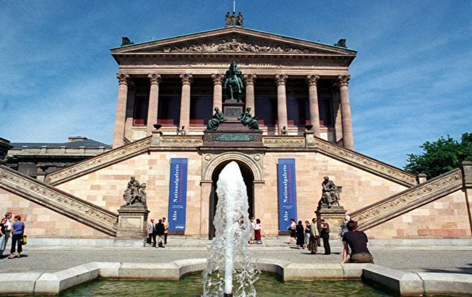 Фонды национальной галереи в берлине