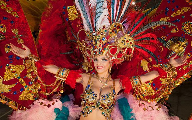 Карнавалы в испании