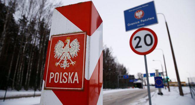Пересечения границы Россия-Польша