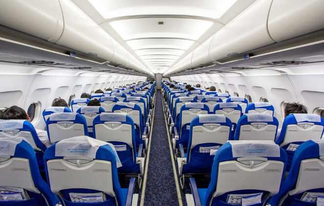 В салоне Bangkok Airways