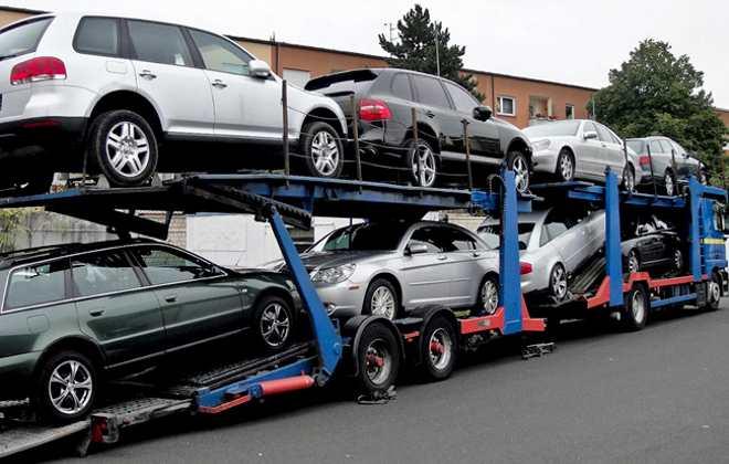 Доставка машины в Россию из Германии