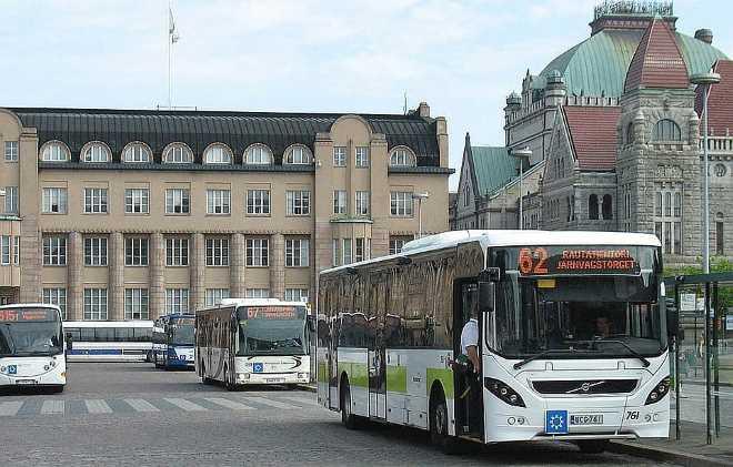 Общественный транспорт в Финляндии