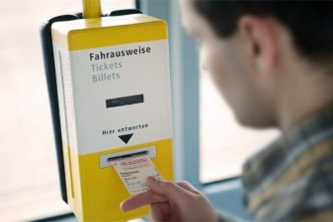 Покупка билетов на транспорт Германии