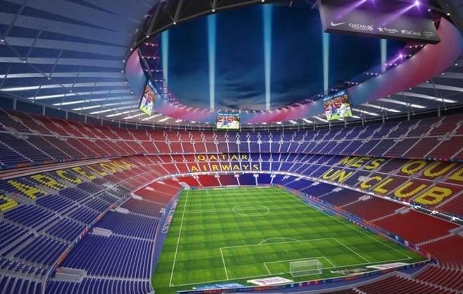 """Стадион """"Камп Ноу"""" в Испании"""