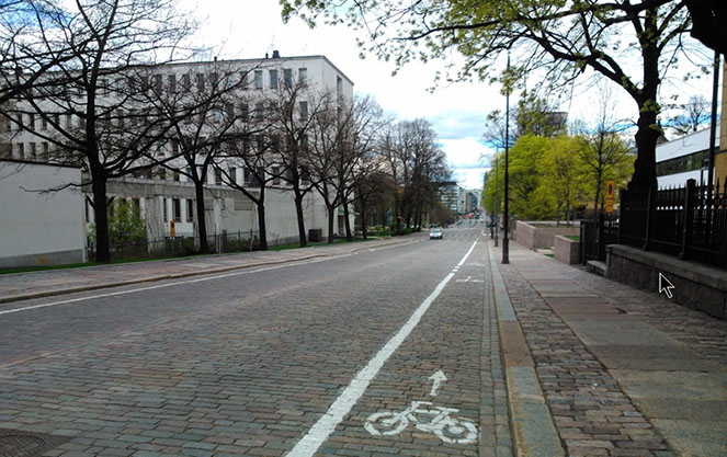 Роль велосипедов в финляндии