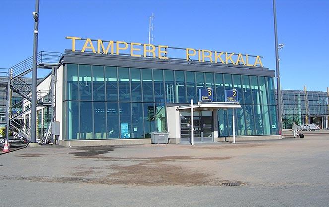 Аэропорт тампере в финляндии