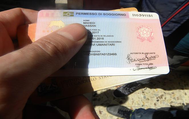 Иммиграция в италию