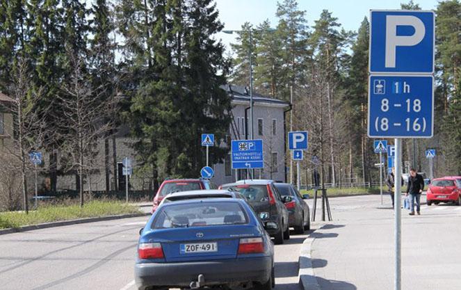 Правила парковки в финляндии