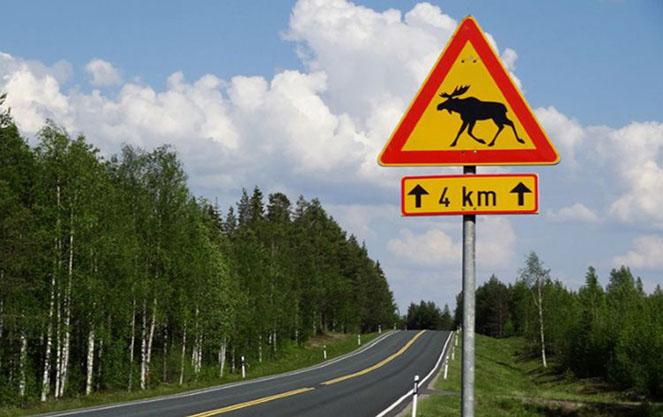 Пдд в финляндии