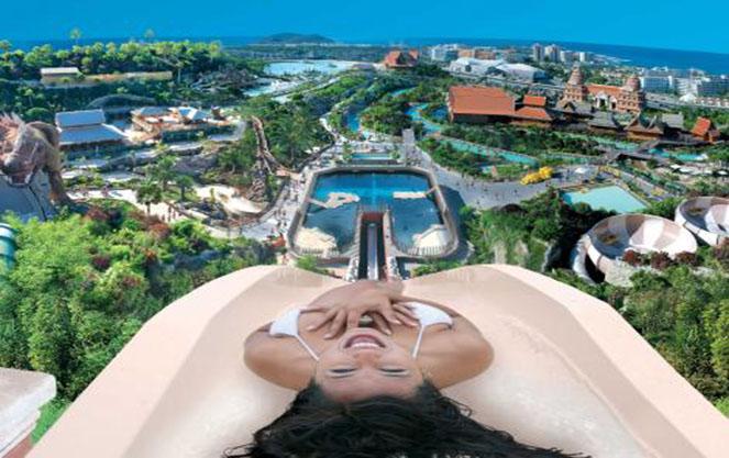 Путешествие в Испанию: Siam Park в Тенерифе