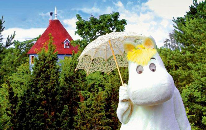 Страна муми троллей в финляндии