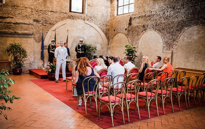 Заключение брака в италии