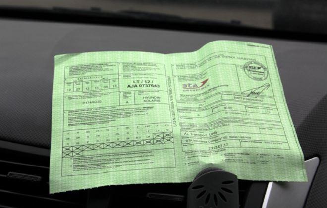 """""""Зеленая карта"""" для поездки в Финляндию"""