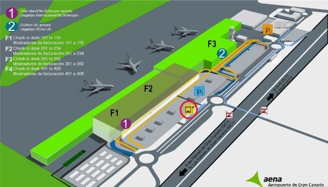 Терминалы аэропорта