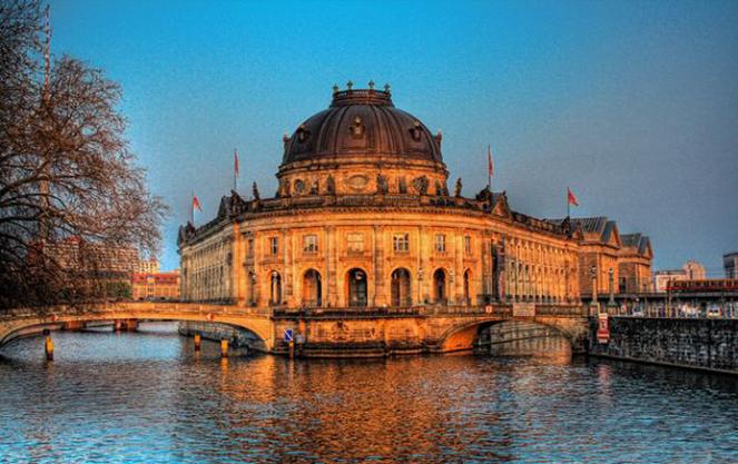 Остров пяти музеев в берлине