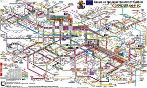 Городские транспортные схемы
