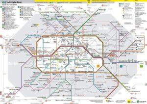 Зоны общественного транспорта Берлина