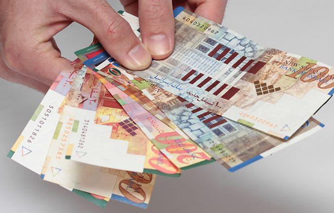 Банкнты в Израиле