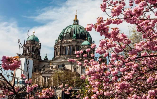 Погода в берлине весной