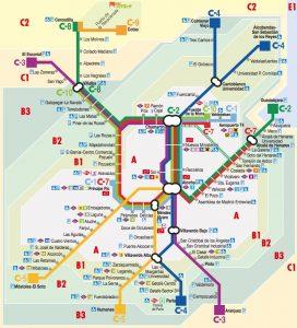 Пригородный железнодорожный транспорт
