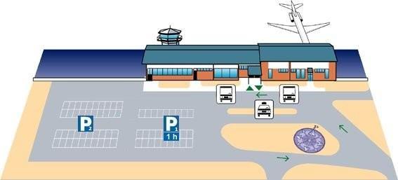 Схема аэропорта Лаппеэнранта