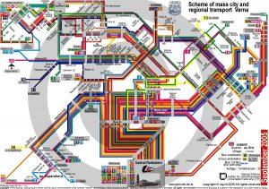 Схема метро Софии