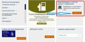 Проверка готовности визы в Чехию онлайн