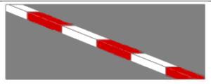 красно-белый цвет запрещает любую парковку и остановку в любое время