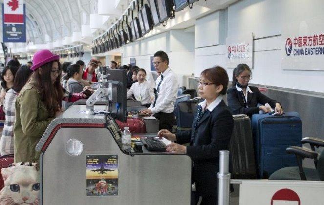 Регистрация на рейс авиакомпании China Eastern Airlines