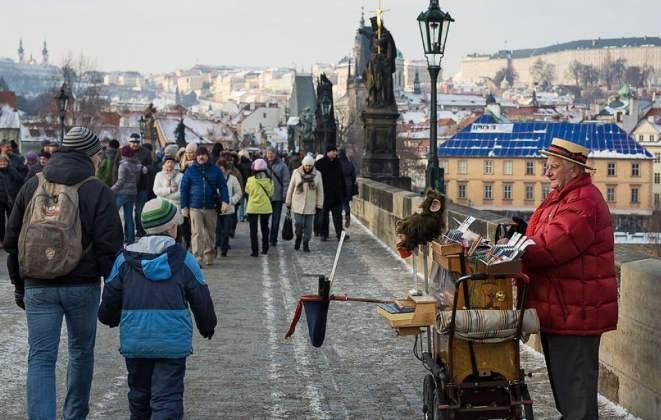 Что привлекает русских в Праге