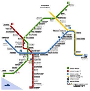 линии метро
