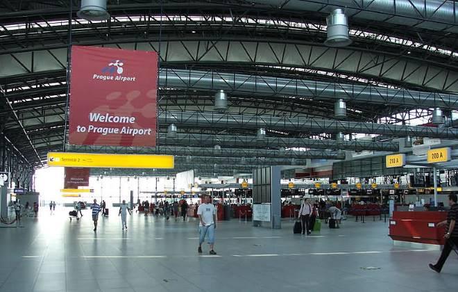 Аэропорт в Праге, Чехия