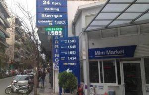Стоимость бензина в Греции