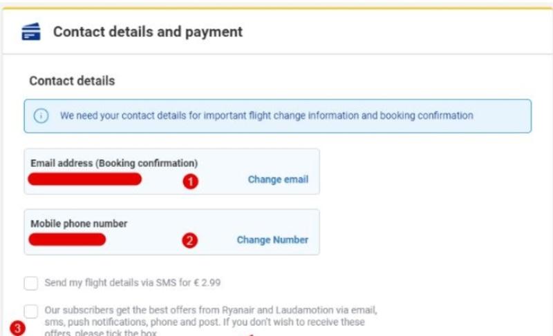 Бронирование билетов на рейсы Ryanair 8
