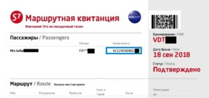 Как купить билет на S7 Airlines 9