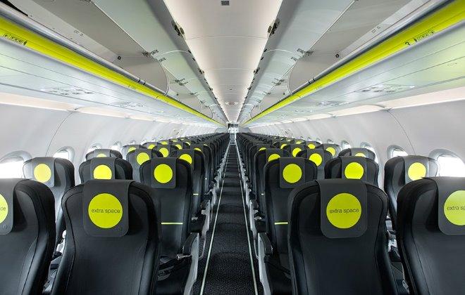 выбор места в самолете S7 Airlines