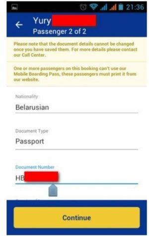 Регистрация через мобильное приложение 5
