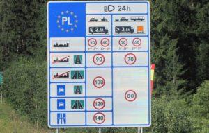 Особенности дорожного движения