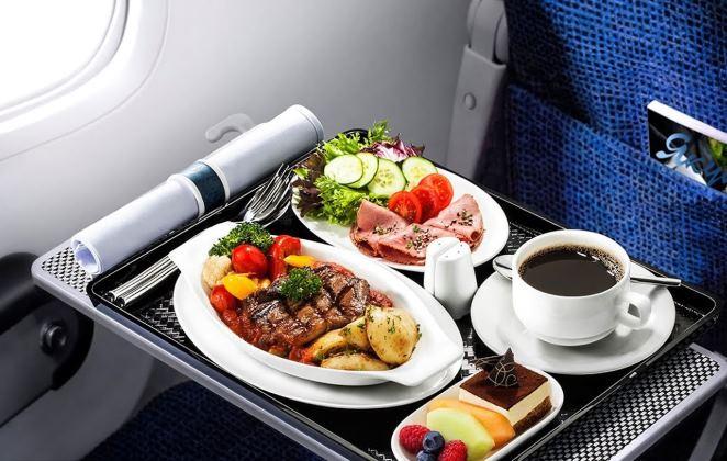 Питание на рейсах авиакомпании S7 Airlines