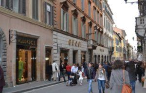 Главная торговая улица Рима
