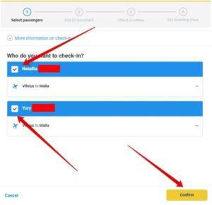Онлайн-регистрация на рейс Ryanair