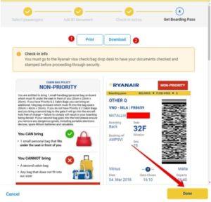 Онлайн-регистрация на рейс Ryanair 6