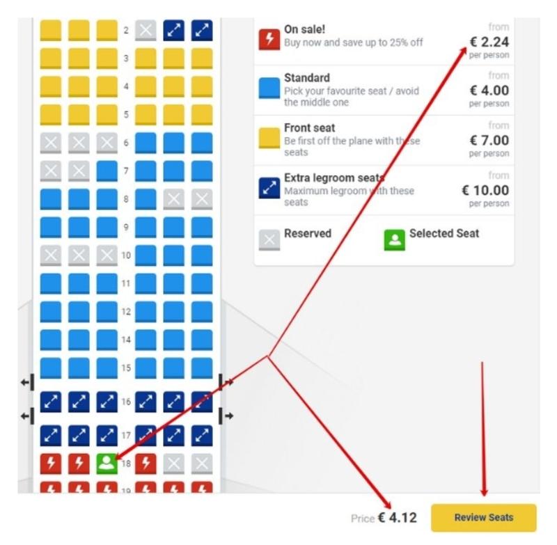 Бронирование билетов на рейсы Ryanair 5