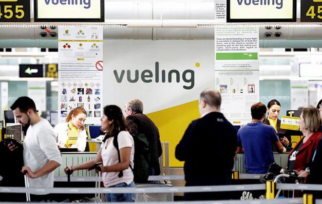 задержка или отмена рейса Vueling Airlines