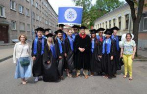 выпускники Балтийской международной академии