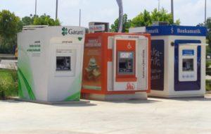банкоматы Турции
