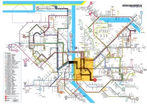 карта транспорта Риги