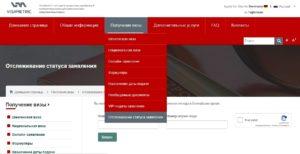 Отслеживание статуса заявки на визу Германию через VisaMetric