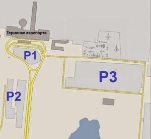 Паркинг в аэропорту Риги